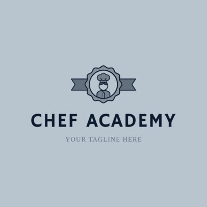 Logo Maker for Pastry Schools 1299d