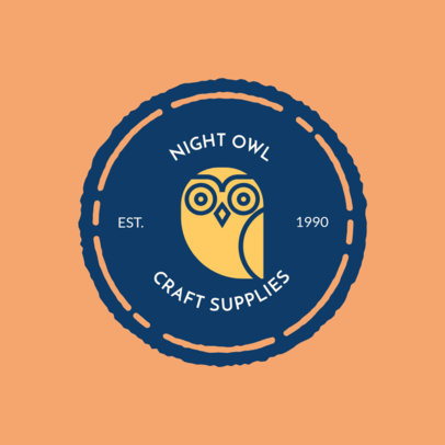 Online Logo Maker for Craft Supply Stores 1309b