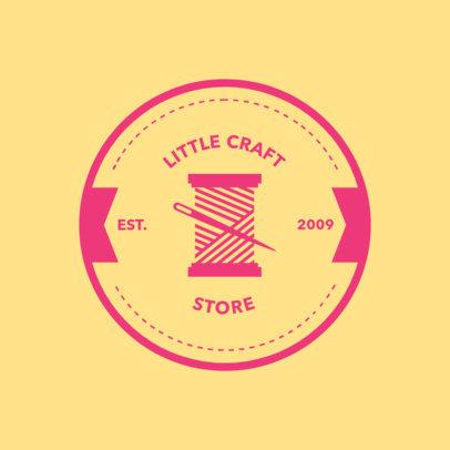 Online Logo Maker for Fabric Stores 1309e