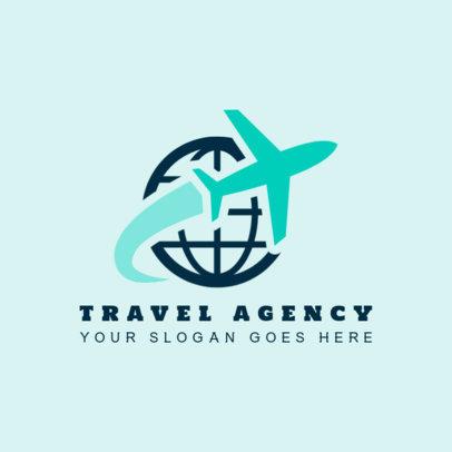 Logo Maker for Travel Agencies 1281b