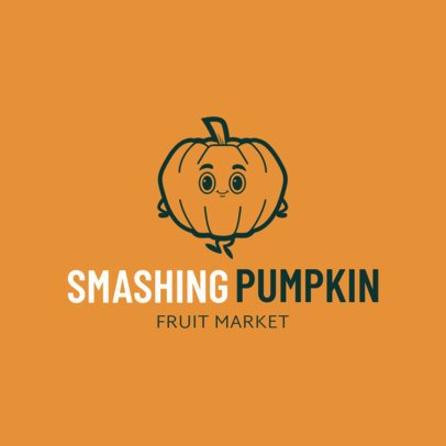 Logo Maker for Pumpkin Patches 1303d
