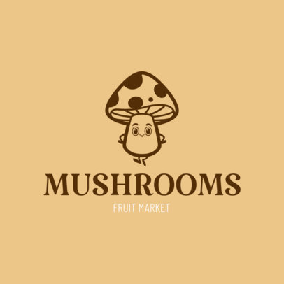 Logo Maker for Mushroom Farms 1303e