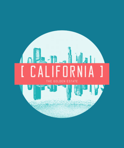 Urban T-Shirt Designer for California T-Shirts 266b
