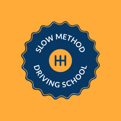 Logo Template to Design a Logo for Driving Schools 1295a