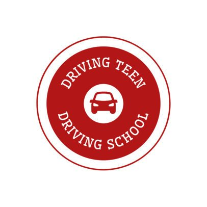 Logo Maker for Driving Instructors 1295d