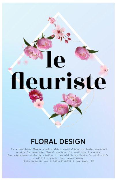 Business Flyer Maker to Design Flyers for Florists 397