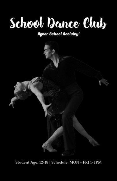 Flyer Maker for Ballroom Dance Lessons 432f