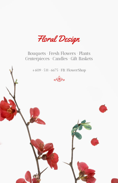 Flyer Maker for Floral Designers 431b