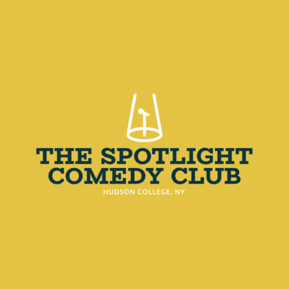 Online Logo Maker for Comedy Clubs 1307b