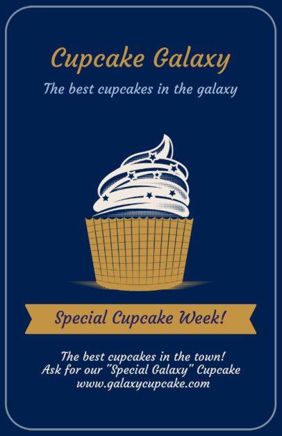 Online Flyer Maker for Gourmet Cupcakes 373e
