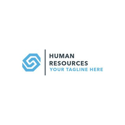 Corporate Logo Maker for Human Resources Companies 1286c