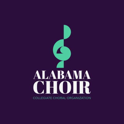Logo Maker for Choir Groups 1308b