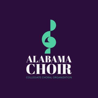 Logo Maker for Choir Groups 1308b