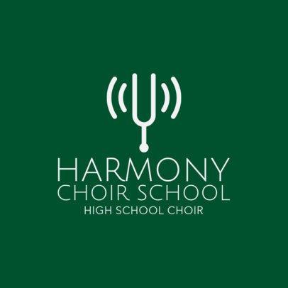 Logo Maker for Singing Classes 1308d
