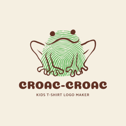 Online Logo Maker for Children's Clothing Stores 1276b