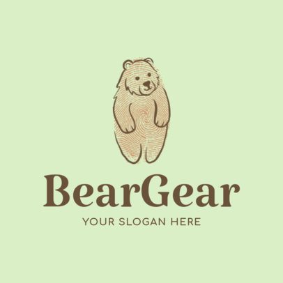 Online Logo Maker for Baby Clothing Brands 1276e