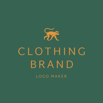 Children's Clothing Brand Logo Template 1315d