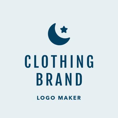 Casual Fashion Brand Logo Maker 1315e