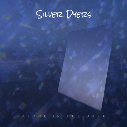 Dark Rock Album Cover Template 464e