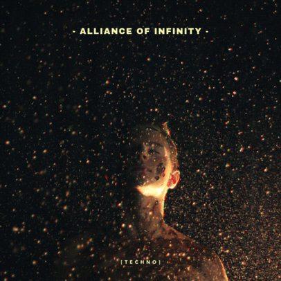 Infinite Techno Album Cover Maker 473d