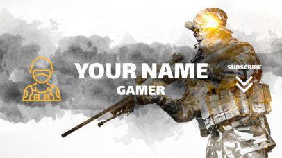 Awesome Youtube Gamer Vlog Channel Banner Maker 458