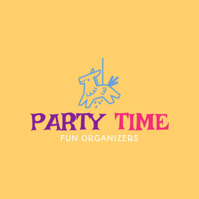 placeit party makers business logo template