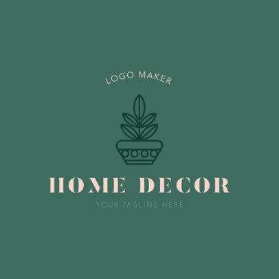 Logo Template for Home Decor 1325c