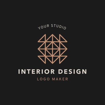 Logo Maker for Interior Design Studio 1325d
