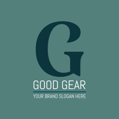 Fashion Gear Logo Design Template 1318a
