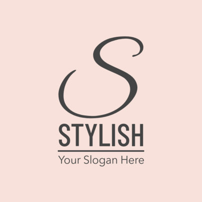 Logo Design Maker for Stylish Clothing Brand 1318c