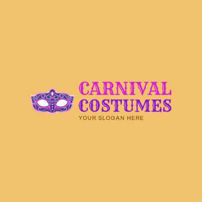 Logo Design Maker for Carnival Costumes 1320e