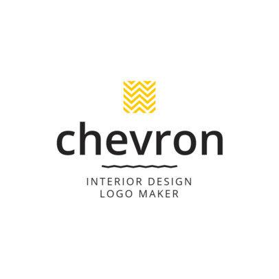 Logo Template to Maker an Interior Designer Logo 1330e