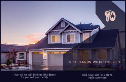 Real Estate Marketing Flyer Template 257d
