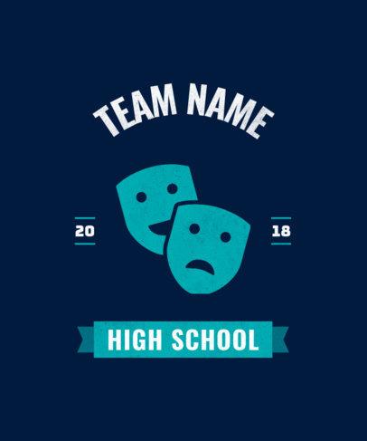 T-Shirt Design Maker for High School Clubs 484