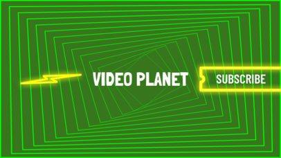 Youtube Video Gamer Channel Banner Template 463e