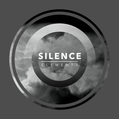 Minimalist Ambient Music Album Cover Template 475b