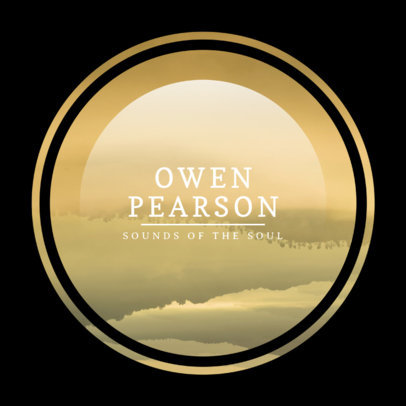 Album Cover Template for Calm Ambient Music 475e