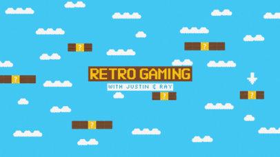 Vintage Gaming Channel Banner Maker #462c