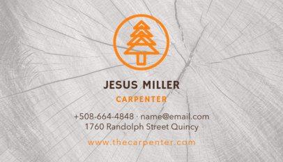 Carpenter Business Card Template 491