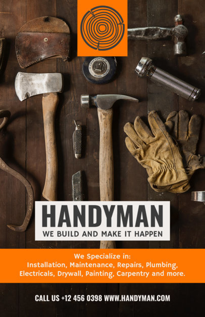 Online Flyer Template for Handyman Businesses 492