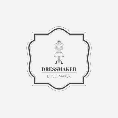 Logo Template for Dressmakers and Tailors 1331