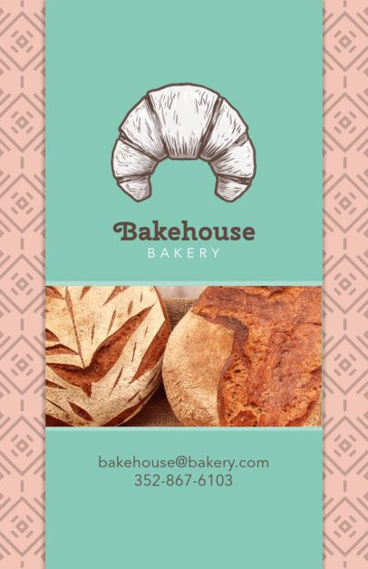 Simple Flyer Design Template for Bakery Shop 494a