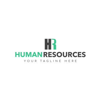 Human Resources Agency Logo Design Template 1285