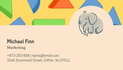 Clothing Brand Marketing Business Card Maker 501e