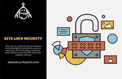 Flyer Design Template for Tech Security Company 514a