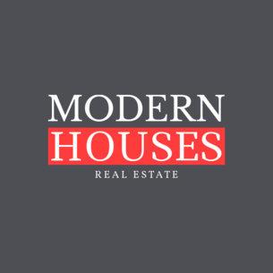 Logo Design Template for Modern House Realtor 1348c
