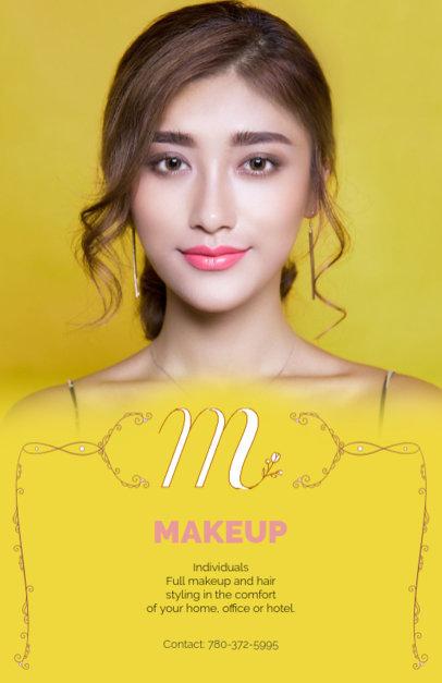 Makeup Business Flyer Design Maker 486a