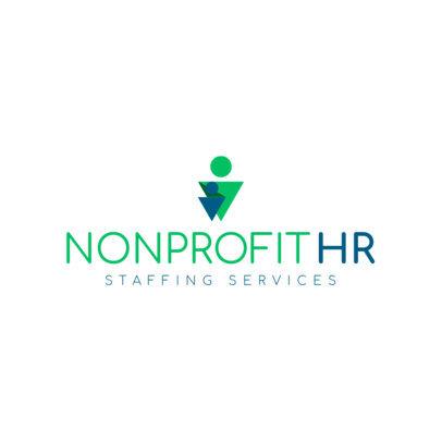 Logo Design Template for HR Staff Agency 1285e
