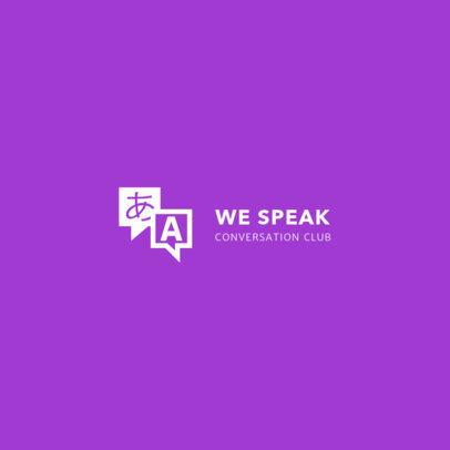 Logo Maker for Conversation Club 1340e