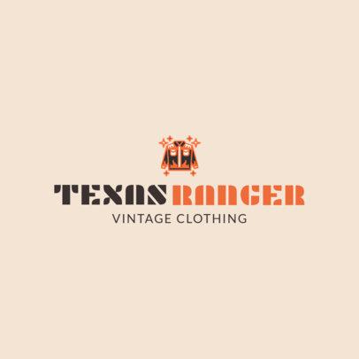 Vintage Clothing Brand Logo Maker 1314b